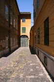 布达佩斯旧镇街道 — 图库照片
