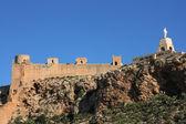Almeria castle — Stock Photo