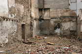 Urban ruins background — Stock Photo