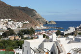 Středomořské město — Stock fotografie
