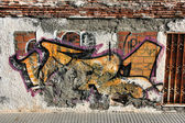 Graffiti texture — Stock Photo