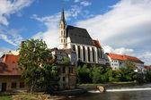 Czech town — Stock Photo