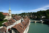 Aare and Bern — Stock Photo