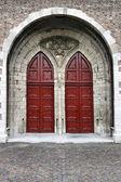 Dordrecht dveře — Stock fotografie