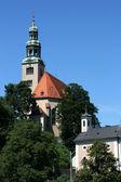 Salzburg church — Stock Photo