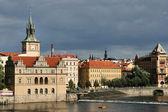 プラハのヴルタヴァ川 — ストック写真