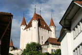 Thun castle — Foto Stock