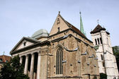 Geneva cathedral — Stock Photo