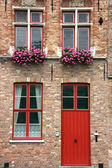 Brugge street — Stock Photo