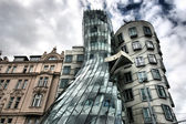 Prague Dancing House — Stock Photo