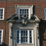 London windows — Stock Photo