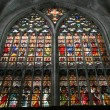 Bruges cathedral — Stock Photo
