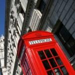 Red telephone — Stock Photo #4494666