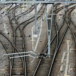 Railroad junction — Stock Photo #4494933