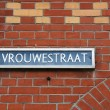 Street in Haarlem, part of famous Randstadt in North Holland, Netherlands. Architecture detail. — Stock Photo #4495592