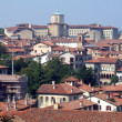 Old town panorama in Italy - ストック写真