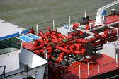Tanker barge — Stock Photo