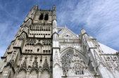 Medeltida katedral — Stockfoto