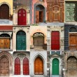 Stock Photo: Doors collection