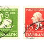 Постер, плакат: Danish stamps