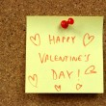 Valentines wishes — Stock Photo