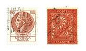 Italian stamps — Stock Photo