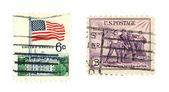 我们邮票 — 图库照片