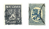 Finnish stamps — Stock Photo