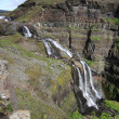 Waterfall in Iceland — Stock Photo #4510576