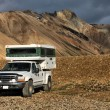 图库照片: Off-road camper