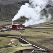 Geothermal power station — Stock Photo