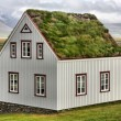 Iceland house — Stock Photo