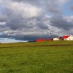 azienda agricola Islanda — Foto Stock