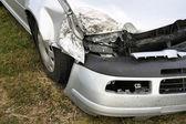 Crashed car — Stock Photo