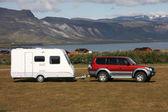Campingvagn — Stockfoto