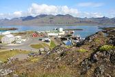 Iceland town — Stock Photo
