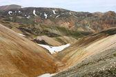 Ijsland bergen — Stockfoto
