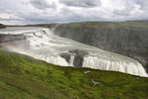 Wodospadu islandii — Zdjęcie stockowe