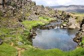 Parque nacional da islândia — Fotografia Stock