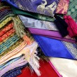 Royalty-Free Stock Photo: Colorful textiles