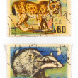 Vintage collectible postage stamps — Stockfoto #4527270