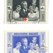 Belgian stamps — Stock Photo #4527464