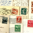 图库照片: Old post cards