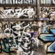 Graffiti abstract — Stock Photo