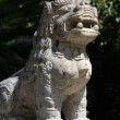 Royalty-Free Stock Photo: Asian lion statue