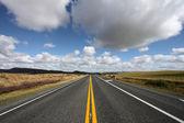 Route panoramique tout droit — Photo