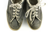 Worn and dirty pair of shoes — Stock Photo