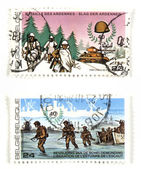 World War II commemoratives — Stock Photo