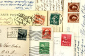 Old post cards — Stock Photo