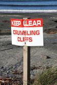 Panneau d'avertissement — Photo